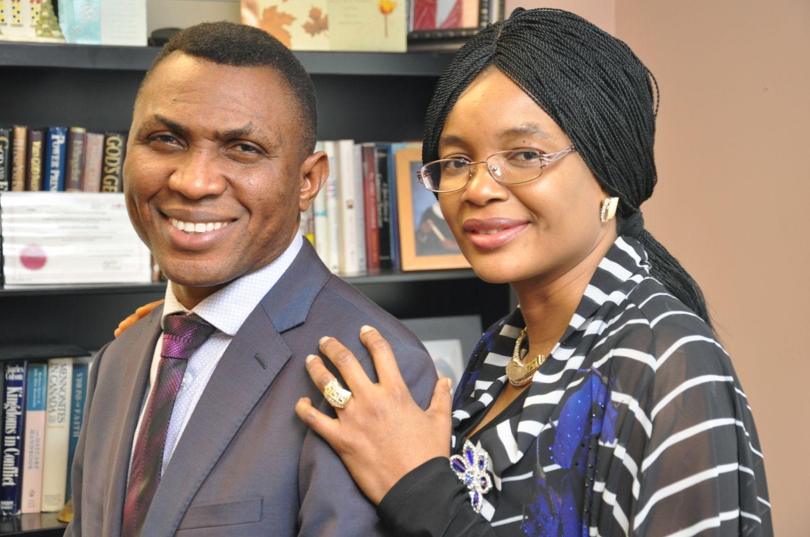 Mr & Mrs Fela Keshinro